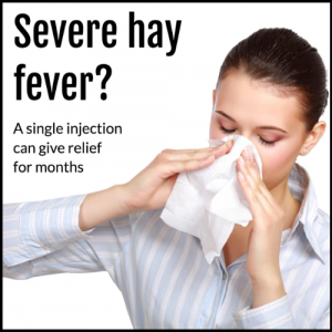 Hay Fever Injection
